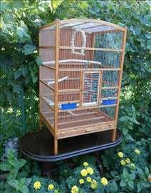 Kavez za papagaja sa rešetkom
