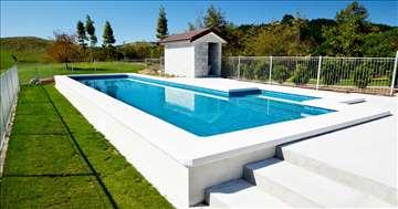 Izgradnja bazena i prodaja opreme