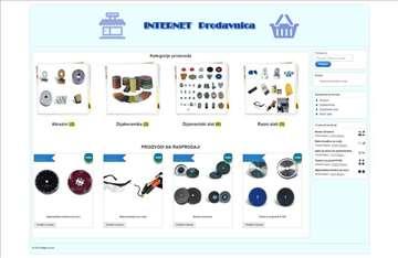 Internet prodavnica-web shop
