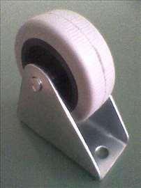 Točkić plastični sa nosačem od čeličnog lima