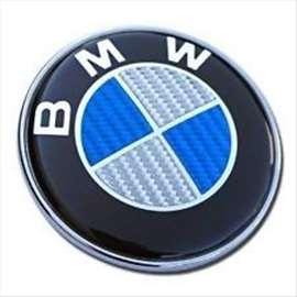 Bmw znak karbon 74mm