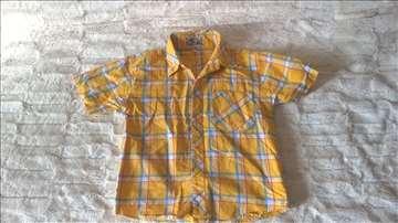 Karo žuta košulja za 4 god.
