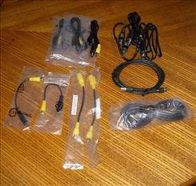 Razni kablovi audio i video