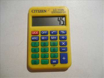 Digitron: Citizen LC-110N