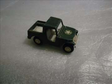 Tootsietoy Jeep 1969, made in USA, 9cm, izgreban