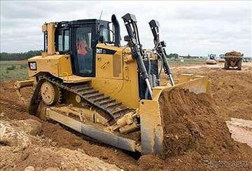 Buldožer CAT D6t-zemljani radovi