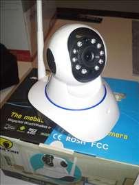IP Megapixel kamera WiFi / Lan HD 720p