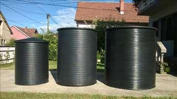 Plastična burad - kace i rezervoari, septičke jame