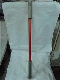 Bicikl pumpa za uzani ventil, plastična 60cm