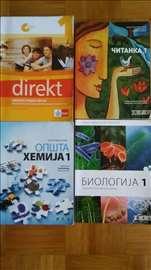 Knjige za 1. razred gimnazije