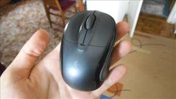 Mali Logitech miš wireless siva boja