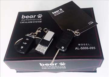 Auto alarm Bear - vise modela