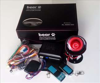 Auto alarm Bear model 2