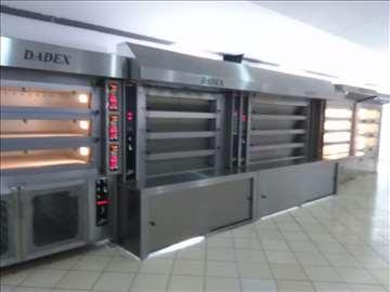 Dadex parne pekarske peći 4-18m2 Pekarska oprema