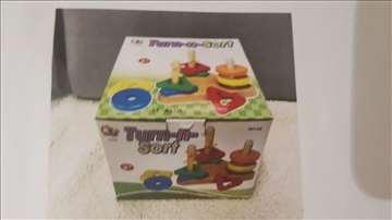 Sertifikovane, nekorišćene, drvene igračke