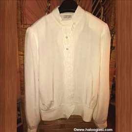 Bela košulja sa radom