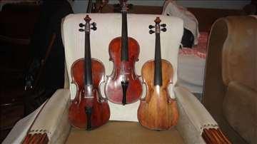 Violine poznatih majstora (stare preko 100 g)