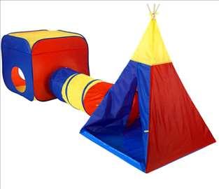 Dečji šator sa tunelom hit
