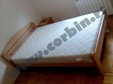 De lux krevet i dušek Superior 140x200