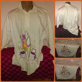 Majica košulja za puniju gospodu veći broj XXXL