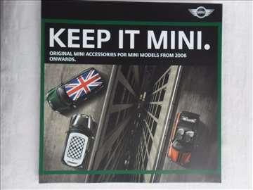 Prospekt Keep it Mini, 47 str, 3 x eng, 23cm