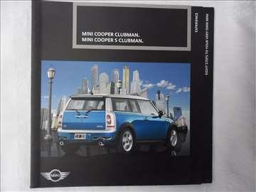 Prospekt Mini Cooper Clubman, 96 str, eng, 23