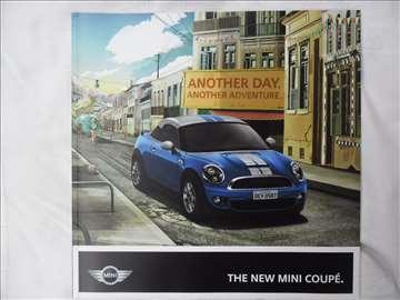 Prospekt Mini Coupe, 40 str, eng, 23 cm