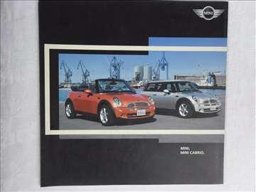 Prospekt Mini/  Mini  Cabrio, 14 str, nem, 23 cm