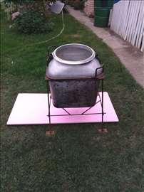 Vojni kazan aluminijski za kuvanje