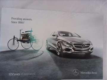 Prospekt Mercedes  125 god.inovacije (istorijat)