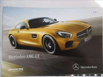Prospekt Mercedes AMG GT i GT S,16 str.,nem.sa teh