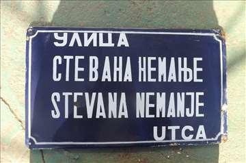 Tabla ulice