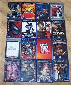 PlayStation 2 igre - 16 komada