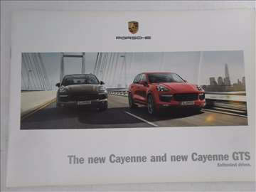 Prospekt Porsche Cayenne i GTS, 17 str.