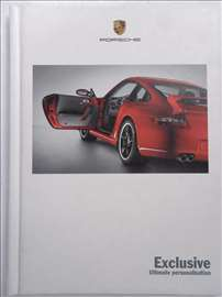 Prospekt Porsche Exclusive, 60 str, 21 x 15.5