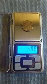 Zlatarska vaga meri 0,01-200 grama, nova