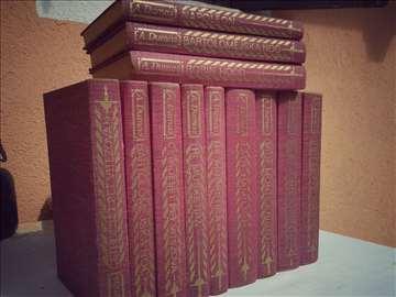 Komplet knjiga A.Dumasa