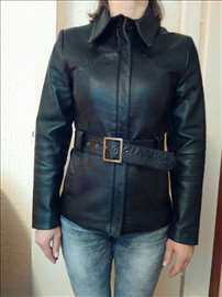 Ženska kožna jakna, 38 veličina