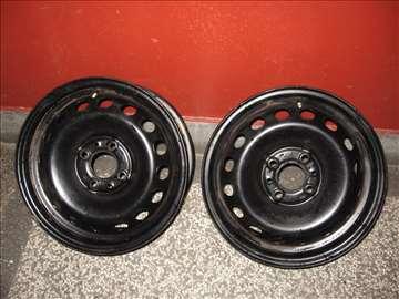 Dve čelične felne za Fiat 14 cola, 6 J