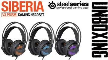 Slušalice SteelSeries Siberia V3 Prism