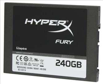 "SSD HyperX FURY 240GB sata3 2.5"""