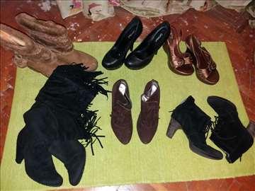 Ženska obuća - 6 para