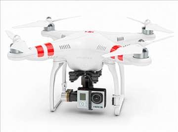 Dron DJI Phantom 2 + H3-3D Gimbel