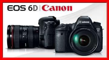 Fotoaparat Canon EOS 6D Kit