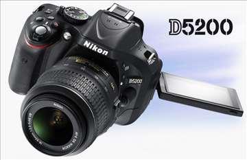 Fotoaparat Nikon D5200 Kit IV