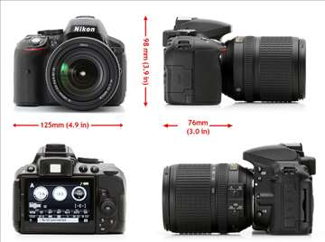 Fotoaparat Nikon D5300 Kit III