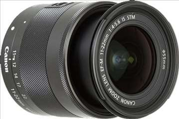 Objektiv Canon 11-22/F4-56 EF-M IS STM