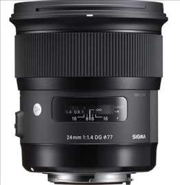 Objektiv Sigma Nikon 24/14 (A) DG HSM Art