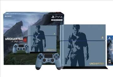 Konzola PS4 1TB + Uncharted 4 Limited