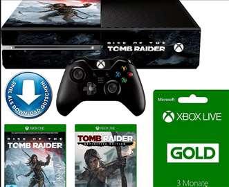Konzola Xbox One 1TB+Tomb RaiderDefinitiveEdition